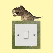Dinosaur light switch sticker  - Wall Art Decal Stickers Quality vinyl New
