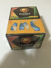 Panini Euro 2004 Soccer Factory Sealed BOX 100 Packets Pack Bustine Tüten Sobres