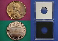 1975 S Proof Lincoln Memorial Cent Penny With 2x2 Case Flat Rate Shipping