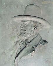1912 Haig Patigian Bronze Plaque of BD Murphy Early San Jose Mayor and Statesman