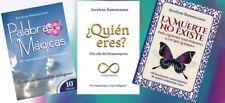 Trilogía Palabras Mágicas, Quien Eres y La Muerte No Existe Jocelyne Ramniceanu