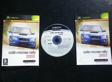 COLIN MCRAE 2005 : JEU Microsoft XBOX (courses auto COMPLET envoi suivi)