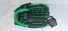 "NWT Franklin Youth 22318 Softball Glove 12"" Black Green All Positions RHT Youth"