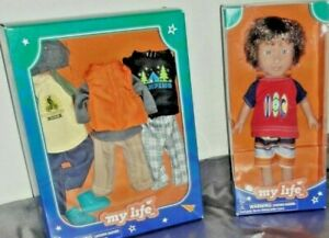 """My Life 7"""" Beach Vacationer Boy Doll With Clothes Caucasian"""