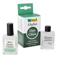 Winyl Stylus Duo Clean Special Set Cleaner & Rinse Solution (2x15ml Flasche) NEU