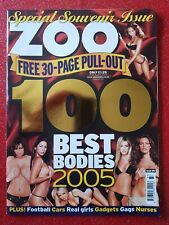 ZOO MAGAZINE - Special Souvenir Issue 100 Best Bodies 2005 - Super RARE!!