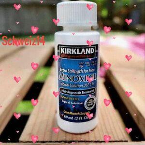 Kirkland 5% Minoxidil Hair ReGrowth 4 Weeks Supply generic liquid Men