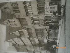 Hamburg um die Jh.wende - Fuhrwerk in der Straße Pumpen nahe Meßberg/Chile-Haus
