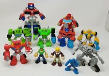 Playskool Transformers Rescue Bots Action Figures Lot of 11 W/ Cody Burns
