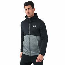 Us under armour af icon fz loose fit hoodie black grey S M L XL 2XL 3XL RRP £65