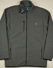 Polo Ralph Lauren Fleece Jacket Track Performance Microfleece Size LT NWT $165