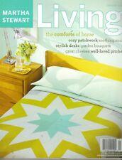 Martha Stewart Living Revista 1/03 #110 con / Intacta Recipe Cartas Pc