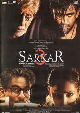 SARKAR 3 - EROS BOLLYWOOD DVD - Amitabh Bachchan, Manoj Bijpayee, Yami Gautam.