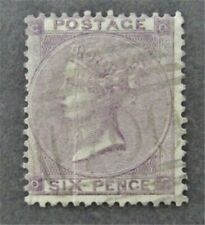 nystamps Great Britain Stamp # 39 Used $105