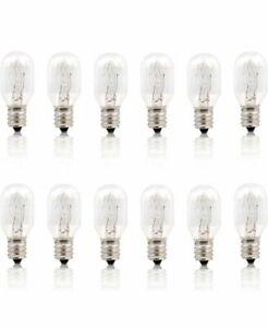BETUS  220V 15W E14 Socket Incandescent Candelabra Salt Lamp Bulb pack of 12 RI3