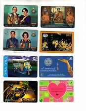 RARE THAILAND PHONE CARDS!  13 DIFFERENT!  ROYAL FAMILY, COMMEMORATIVES & MORE!