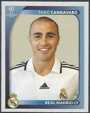 PANINI UEFA CHAMPIONS LEAGUE 2008-09- #436-REAL MADRID & ITALY-FABIO CANNAVARO