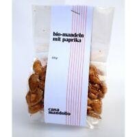 Mandorle biologiche tostate con Paprika 100g - SICILIA Bio Gourmet ogni occasion
