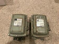 Lot Of 2 Ge General Electric Manual Motor Starter Units Cr1062