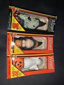 Vintage 1980's HALLOWEEN Wizard Wax Decorative Air Freshener LOT OF 3