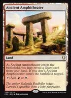 MTG x4 Ancient Amphitheater Commander Anthology 2 Rare Land NM/M