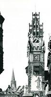 Freiburg im Breisgau : Martinstor - um 1950                  A 22-21