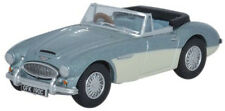 Oxford 76AH3001 Austin Healey 3000 Blue/Ivory 1/76 Scale = 00 Gauge New in Case