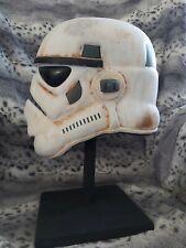 Star Wars Stormtrooper SANDTROOPER Helmet (Rubies)1:1 REPLICA WEATHERED custom