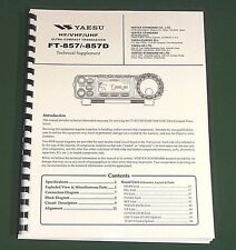"Yaesu FT-857/FT-857D Service Manual: With all 11""X17"" Foldout Diagrams!"