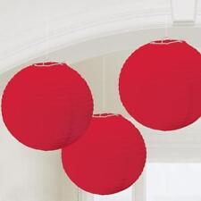 Décorations de fête lanterne rouge pour la maison
