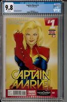 CAPTAIN MARVEL #1 CGC 9.8 NM/MT (2014) | CAROL DANVERS