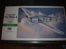 HASEGAWA FOCKE -WULF FW 190A-4  PLASTIC MODEL 1/48