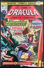 TOMB OF DRACULA #41 FN BLADE APPEARANCE GENE COLAN