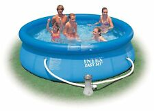Intex 10 x 30 Easy Set Above Ground Swimming Pool w/ 330 GPH Filter Pump 28121EH