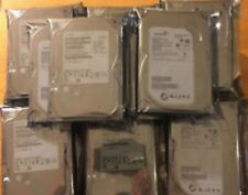 "LOT OF 10 250GB 3.5"" SATA SEAGATE Brand Desktop Hard Drives"