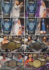 2019 Topps WWE Smackdown Live MAT / Championship Medallion CARD Singles