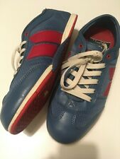 Rare Macbeth Brighton Cobalt/Muted Red Size 7.5 US Vegan Tom Delonge