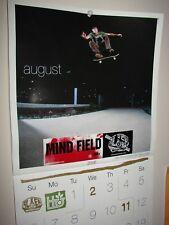 2006 Alien Workshop habitat poster skateboard banner Aws mind field calendar sk8