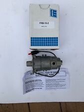 Walbro FRB15-2 Marine Industrial Fuel Pump 24 vdc 34 GPH for Gasoline, Diesel