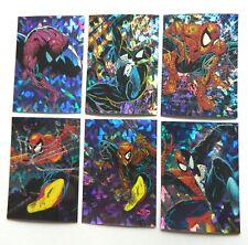 1992 Spider-man 1 McFarlane Era Prism Insert Set