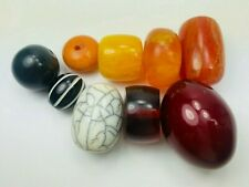 9 Perlen Resin Harz Horn Beads Ethno Beads Tribal BeadsCompany