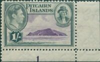 Pitcairn Islands 1940 SG7 1/- Christian and island imprint 1 MNH