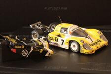 PORSCHE 956 N°7 JOEST RACING TAKA-Q 24H du MANS 86 1/43 HPI extrem Rar No Spark