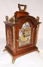 vintage Dutch Mantle Bracket Shelf Clock moonphase WARMINK Wuba striking