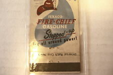"""TEXACO (BENNETTS SERV.STA. VINTAGE MATCHEBOOK COVERS  PRE-OWNED 4.5"""" X 1 3/4"""""""