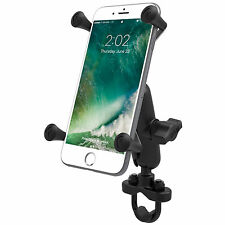 RAM-B-149ZA-UN10-KT U-Bolt Bike Mount & X-Grip IV Large Phone & SatNav Holder