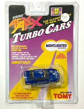 1996 TOMY Turbo AFX NISSAN CALSONIC GTR #12 Slot Car #8979 Rare Sealed Card Lit!