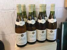 Lot de 10 bouteilles de Chablis millésime 1991