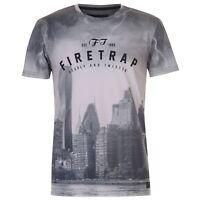 Firetrap Mens Sub The City T Shirt Crew Neck Tee Top Short Sleeve Round