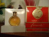 "RARE 1980's! BEST parfum ""FAROUCHE""  NINA RICCI,  e 6 ml., 1/5fl.oz, OLD FORMULA"